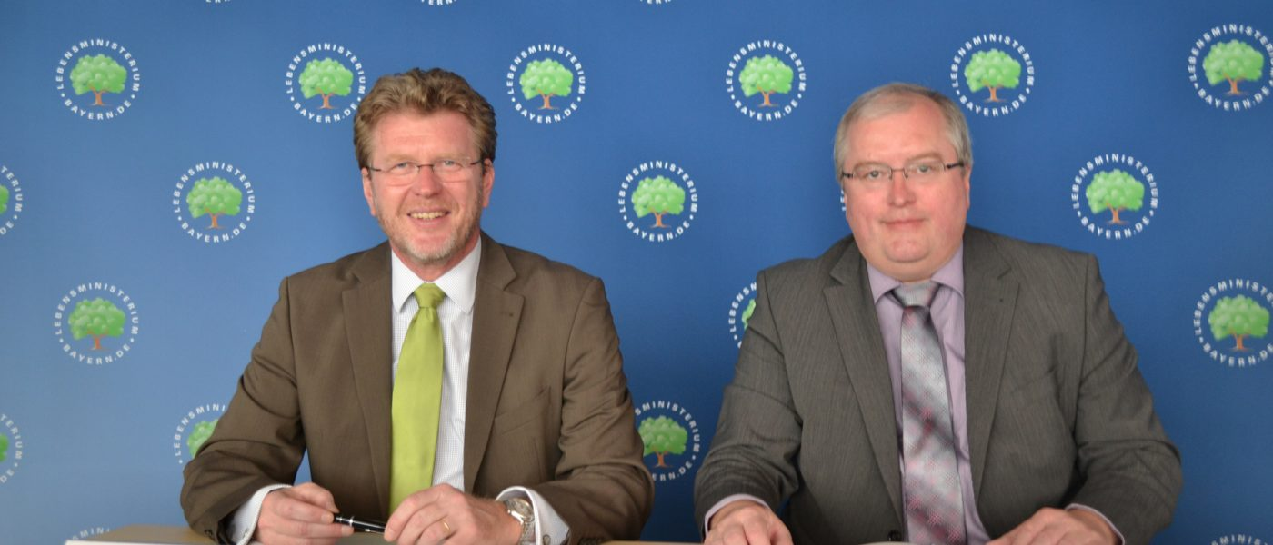 Klimaalianz Herr Huber und Herr Spätling