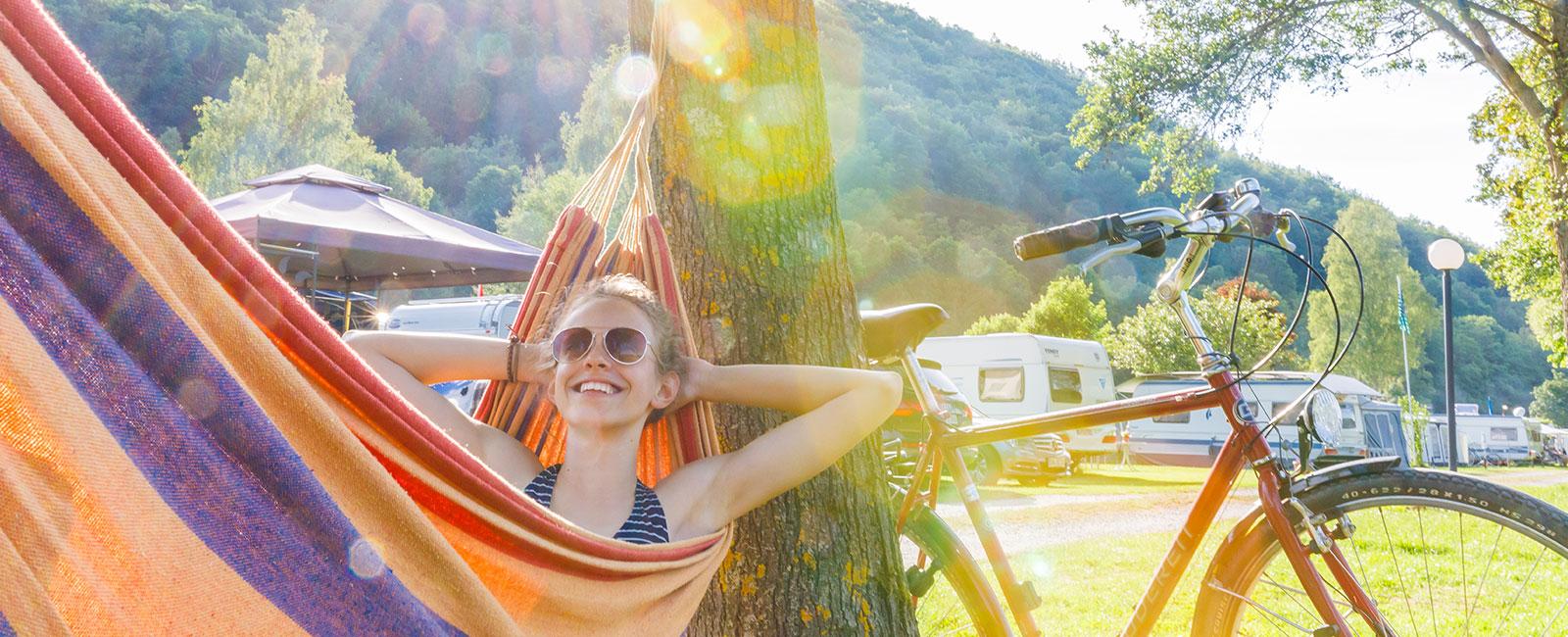 Relaxen auf dem Campingplatz