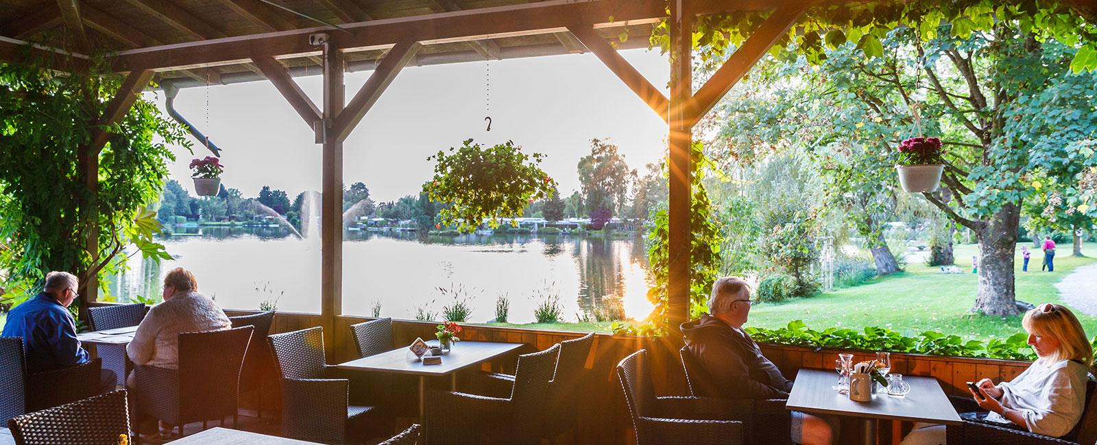 Restaurant Campingplatz in Bayern