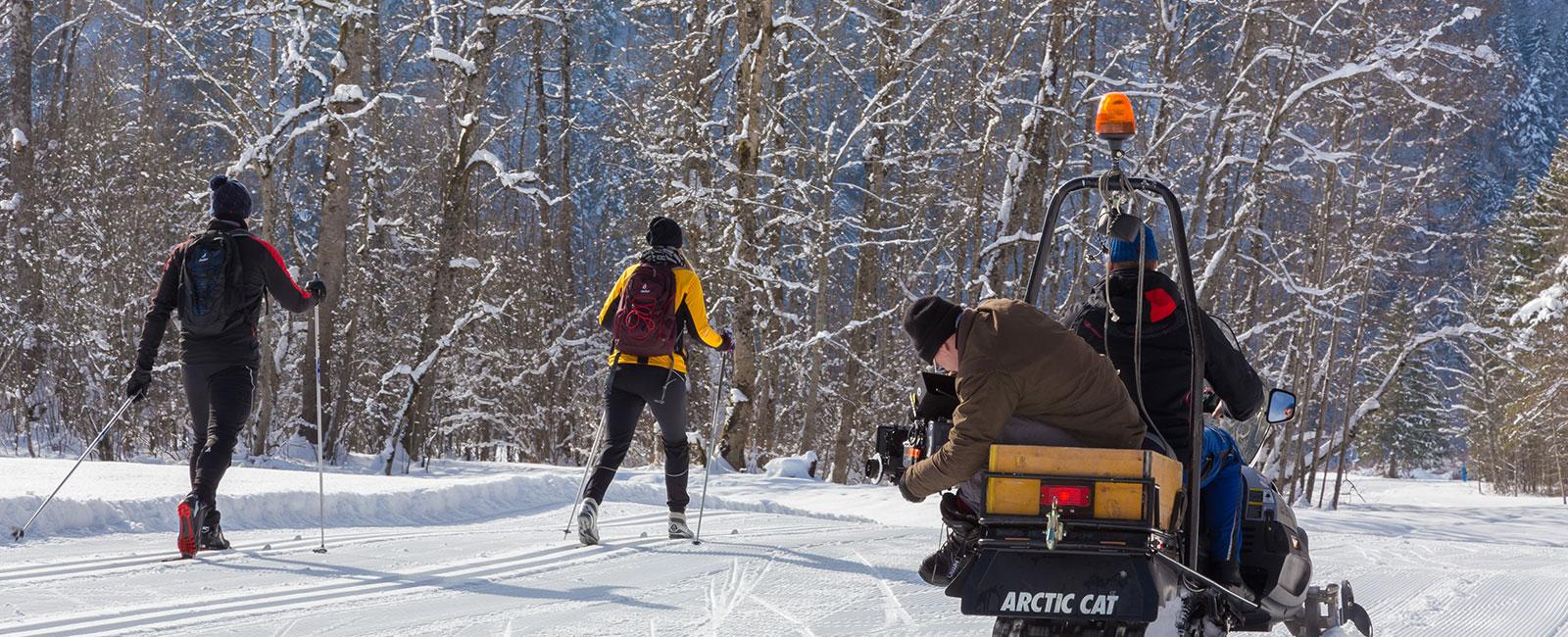 Videodreh Camping in Bayern Langlauf