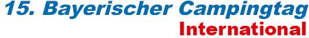 Logo Bayerischer Campingtag International 2020